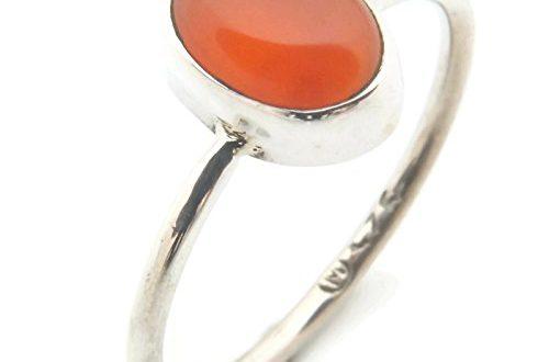 Ring Silber 925 Sterlingsilber Karneol orange rot Stein Nr MRI 500x330 - Ring Silber 925 Sterlingsilber Karneol orange rot Stein (Nr: MRI 100), Ringgröße:56 mm/Ø 17.8 mm